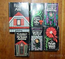 VC Andrews Dollanganger Lot of 6 Books Complete Series Flowers Garden Audrina