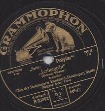 Chor der Staatsoper  Berlin singt Brautchor aus R.Wagner Lohengrin - Oskar Fried