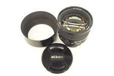 Nikon AF 1,4 / 85 mm D Objektiv gebraucht in ovp