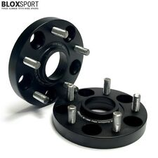 2x 15mm High-tec Hub Centric Wheel Spacer 5x114.3 CB64.1 for Acura TL,RSX,NSX,CL