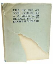 Signed A.A. Milne The House at Pooh Corner Limited First Edition 1928 Rare Book
