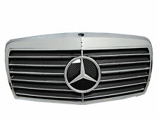 W126 1979-1993 4Dr Sedan GRILLE/GRILL ASSAY 13MD CHROME/BLACK for Mercedes-Benz