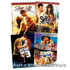 Step Up Complete Dance Series Movies 1 2 3 4 5 Box / DVD Set(s) Collection NEW!