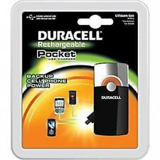 Brand NEW PKG Duracell Rechargeable Pocket USB Charger Backup Cell Phone Power