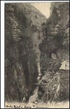 Royannais Frankreich France CPA 1911 Tunnel dans led Gorges de la Bourne