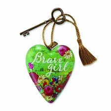 Art Hearts by Demdaco - Brave Girl by Melody Ross Ornament - Wall Hanger