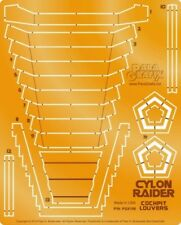 PARAGRAFIX 1/32 Battlestar Galactica: Cylon Raider Cockpit Louvers Photo PGX186