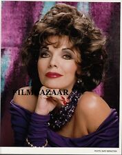 "JOAN COLLINS - Original 10"" x 8"" Colour Portrait Photograph 1990 C#26"