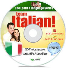 Learn To How Speak Italian Language Course Audio MP3 & PDF e-Books on DVD