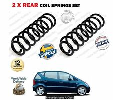 FOR MERCEDES W168 A140 A160 A190 A210 A170 CDI 1997-2004 2X REAR COIL SPRING SET
