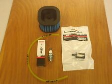 Husqvarna 372 372xp tune up kit HD air filter fuel filter line spark plug