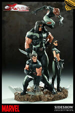 Sideshow Exclusive X-FORCE Diorama Statue #388/600 Marvel X-23, Wolverine, X-Men