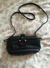 Brand New (£38!) TOPSHOP black Buffalo Leather Handbag/cross Body Bag
