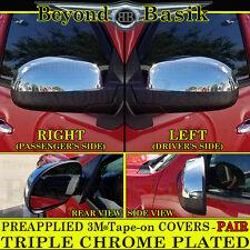 2007-2013 GMC SIERRA 1500 Top Half Triple Chrome Mirror COVERS