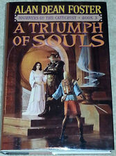 Alan Dean Foster SIGNED A Triumph of Souls USHC 1st Edn Journeys Catechist 3