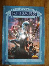 WARHAMMER 40K 40000 - GAMES WORSHOP - Codex ELDAR 1999