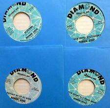 Ronnie Dove Lot of 4 x 45 rpm singlesTeen Pop Diamond Records e9377