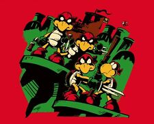 Teenage Mutant Ninja Turtles TMNT Super Mario Koopa Brothers Mash-up Shirt Large