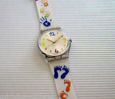 SAUTE-MOUTON! Swatch HAND & FOOT PRINT! MIB-RARE!