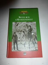 Notes sur l'enseignement, Nuno Oliveira (French) Hardcover B183