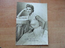 GRANDE PHOTO ANNEES 1950 ESTHER WILLIAMS Chewing-gum GLOBO