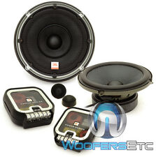"JBL P660C POWER 6.5"" 270W COMPONENT SPEAKERS TEXTILE DOME TWEETERS CROSSOVERS"