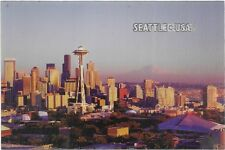 Space Needle Day and Night Port Card.