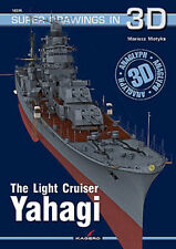 THE LIGHT CRUISER YAHAGI KAGERO SUPER DRAWINGS IN 3D 16036