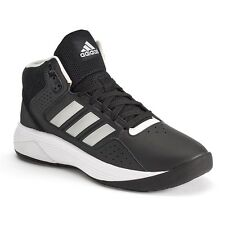 adidas Cloudfoam Ilation black Men's Leather Basketball Shoes sneakers boots 10