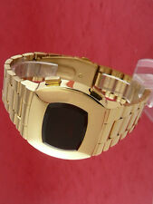 Rare old style modern futuristic 70s seventies space age mens led l.e.d watch 22