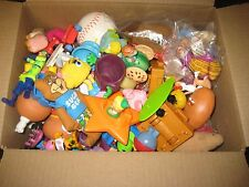 Lot of McDonald's Happy Meal Toys Early Years 80 90's smurf fragile rock nuggets