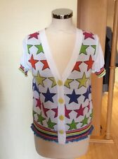 Olivier Philips Cardigan Size 18 BNWT Multicoloured Stars RRP £140 NOW £63