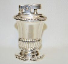 """Vintage Silverplate Ronson """"MAYFAIR"""" Table Lighter in Working Condition"""