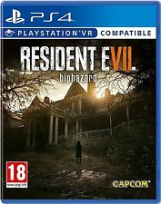 RESIDENT EVIL 7 BIOHAZARD PS4 GAME (BRAND NEW SEALED) PLAYSTATION VR OPTIONAL
