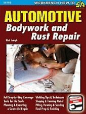 SA166 Automotive Bodywork Rust Repair Sheet Metal Book Muscle Car Dent & Dings