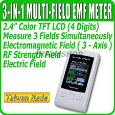 TM-190 EMF Meter TM190 Gauss 3-axis Magnetic Electric RF Field Strenght Taiwan