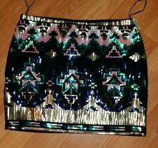 Romeo and juliet couture sequins mini skirt size medium