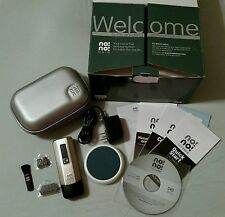 NO!NO! Pro5 Chrome HAIR REMOVAL SYSTEM + Travel Case + 4 EXTRA TIPS & SM. BUFFER