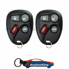 2 Replacement for Cadillac CTS - 2003 2004 2005 2006 2007 Remote