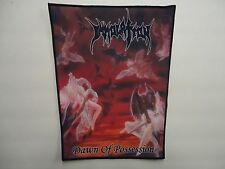 IMMOLATION DAWN OF POSSESSION SUBLIMATED BACK PATCH