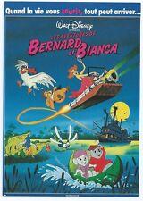 "CPM -Carte postale WALT-DISNEY Affiche de film"" BERNARD ET BIANCA """