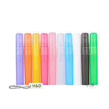100pcs Plastic Bottle Atomiser Pen Shaped Perfume Spray Travel Bottle Empty 5ml