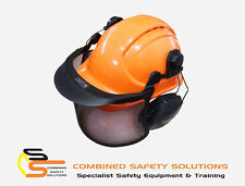 Honeywell Hard Hat Kit w/ Mesh Visor & Class 5 Howard Leight L1H Earmuffs