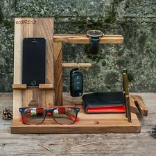 "Handmade Stand out for the phone tree ""Male organizer"".Office gift."