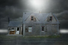 "perfect 36x24 oil painting handpainted on canvas""Haunted House ""NO4261"