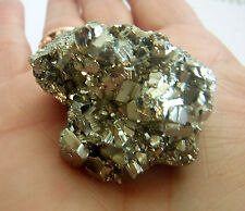 PYRITE NATURAL A-GRADE FOOLS GOLD CRYSTAL SPARKLY DRUZY CUBES 56g 40mm st185