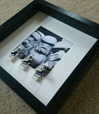 Stormtroopers lego 3d frame star wars present gift