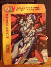 Marvel Overpower Original Silver Surfer Power Cosmic NrMint-Mint Card