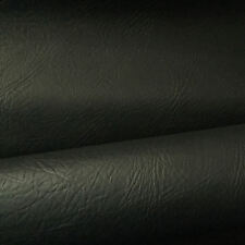 Black SYNTHETIC LEATHER  fabric for furniture, auto upholstery by the metre