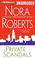 Private Scandals by Nora Roberts (2012, CD, Unabridged)